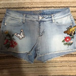 Nice Arizona Jean Co. detailed shorts